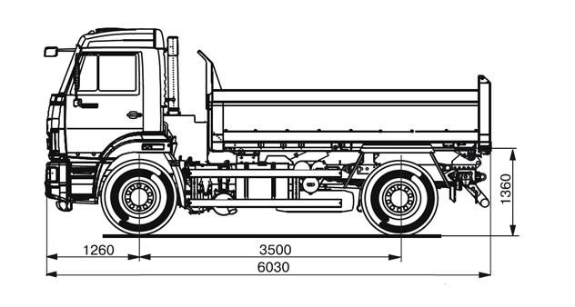 КАМАZ 43255-R4