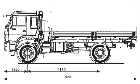 KAMAZ 43502-14 (S4)