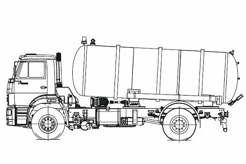Вакуумная машина КО-505Б1