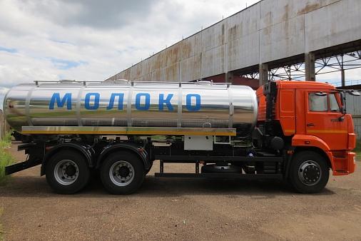 Автоцистерна НЕФАЗ-66064-0013320-A4 для перевозки пищевых жидкостей
